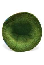 "Handgemaakt Miscellaneous - Felt hat ""Spark"" - hand felted, 100% wool"