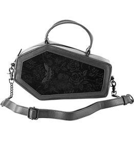 Killstar Killstar Vampire's Kiss coffin handbag (black)