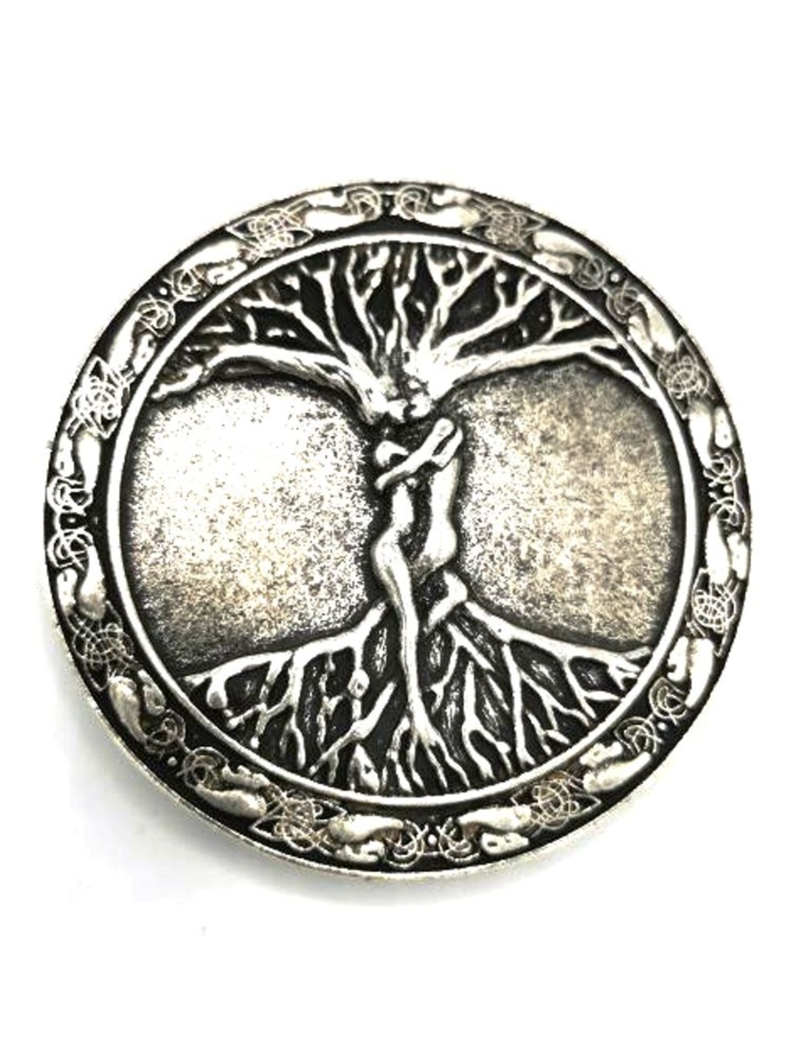 Acco Leather belts and buckles - Buckle Tree of life