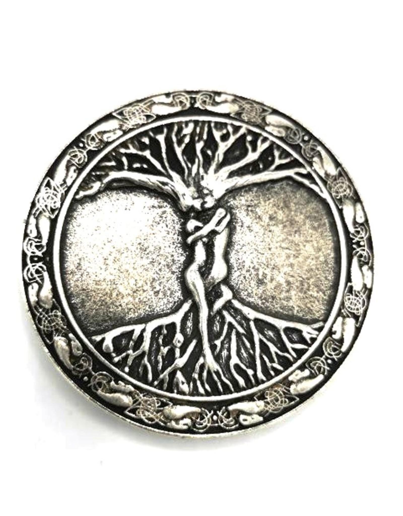 Acco Leren riemen en buckles - Buckle Tree of life