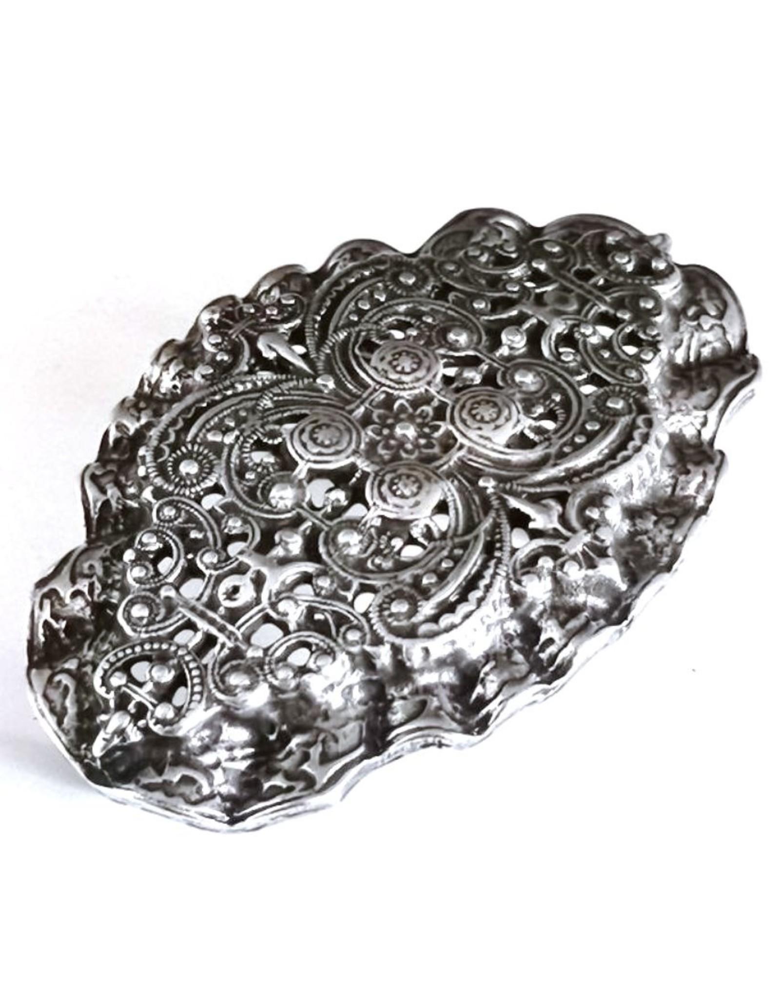 Boom Belts Buckles - Buckle met Victoriaans Ornament - massief metaal
