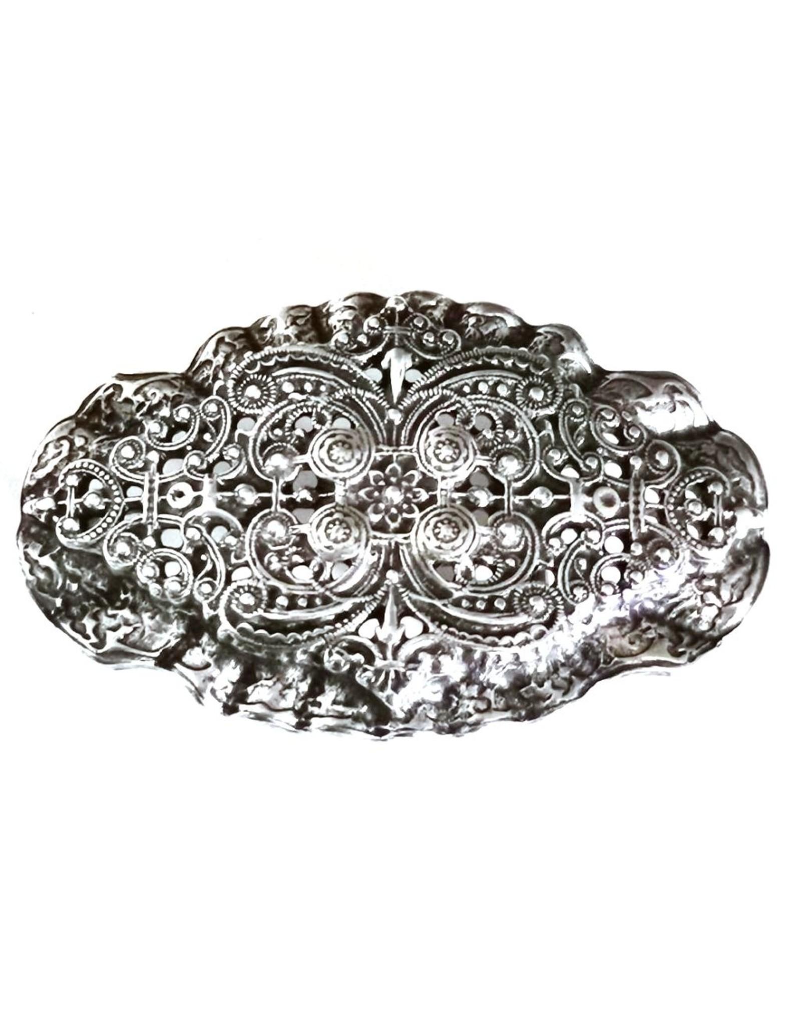 Acco Buckles - Buckle met Victoriaans Ornament - massief metaal