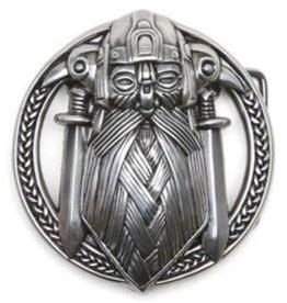 Boom Belts Buckle Viking - solid metal