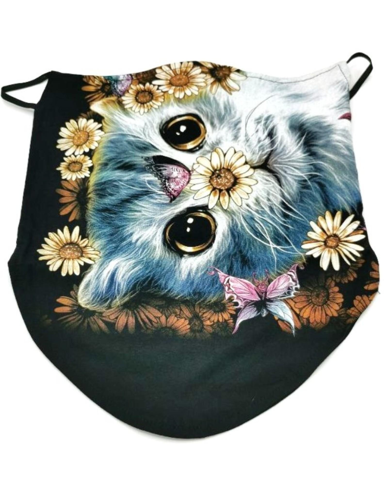 Wild Design Biker sjaals  -Biker-sjaal Happy Cat