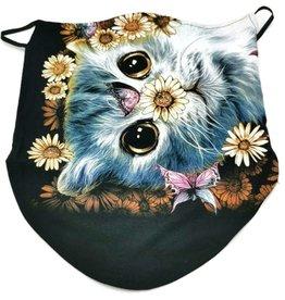Wild Biker-sjaal Happy Cat