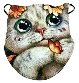 Wild Biker-sjaal Dreamy Cat