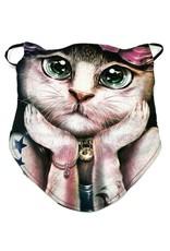Wild Design Biker scarfs - Biker-scarf Fashion Cat