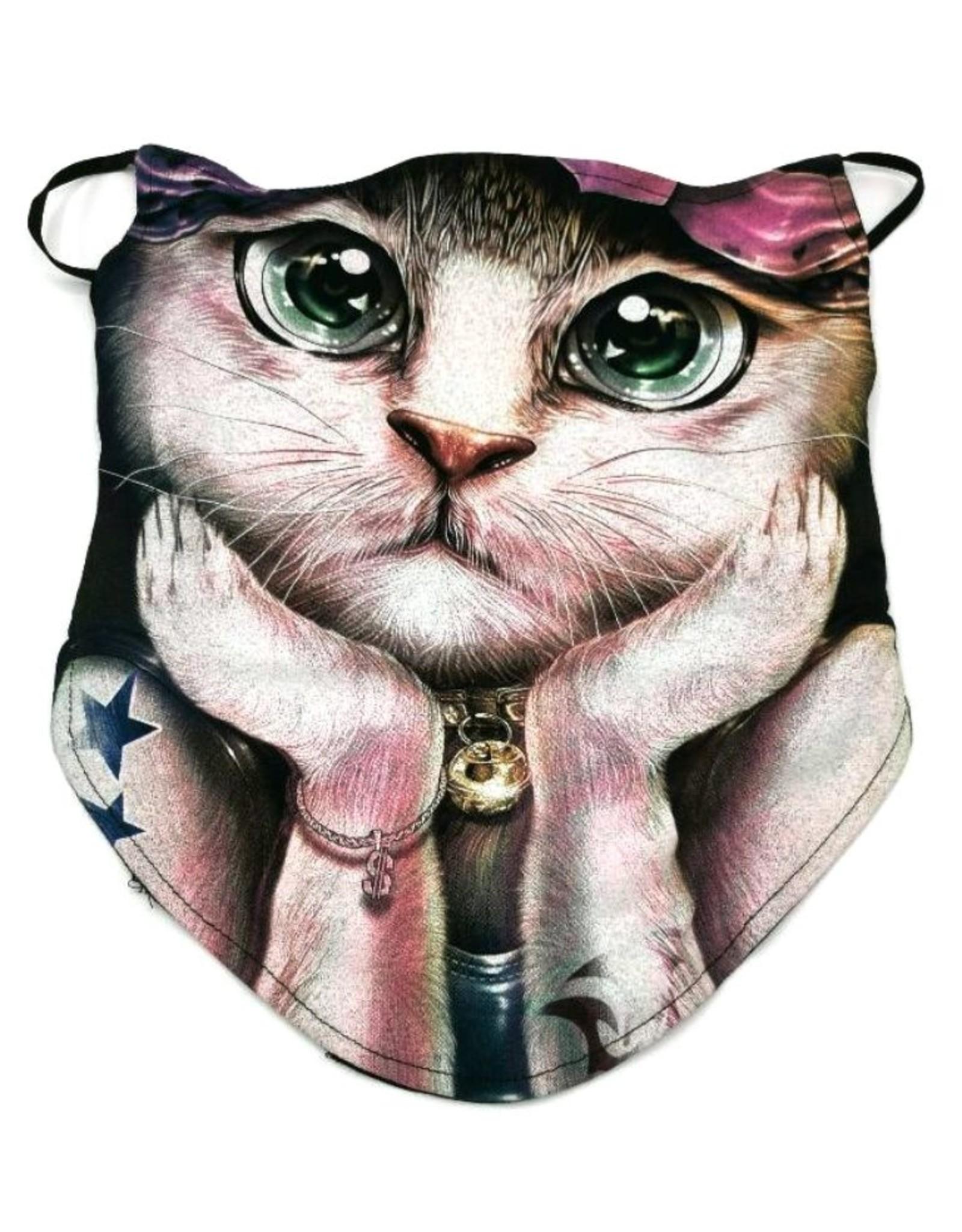 Wild Design Biker sjaals - Biker-sjaal Fashion Cat