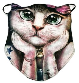 Wild Biker-scarf Fashion Cat