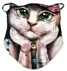 Wild Biker-sjaal Fashion Cat