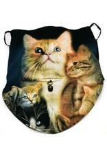 Wild Design Biker sjaals - Biker-sjaal Family Cat