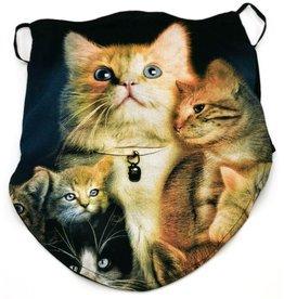 Wild Biker-sjaal Family Cat