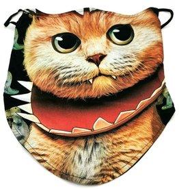 Wild Biker-scarf Vampire Cat