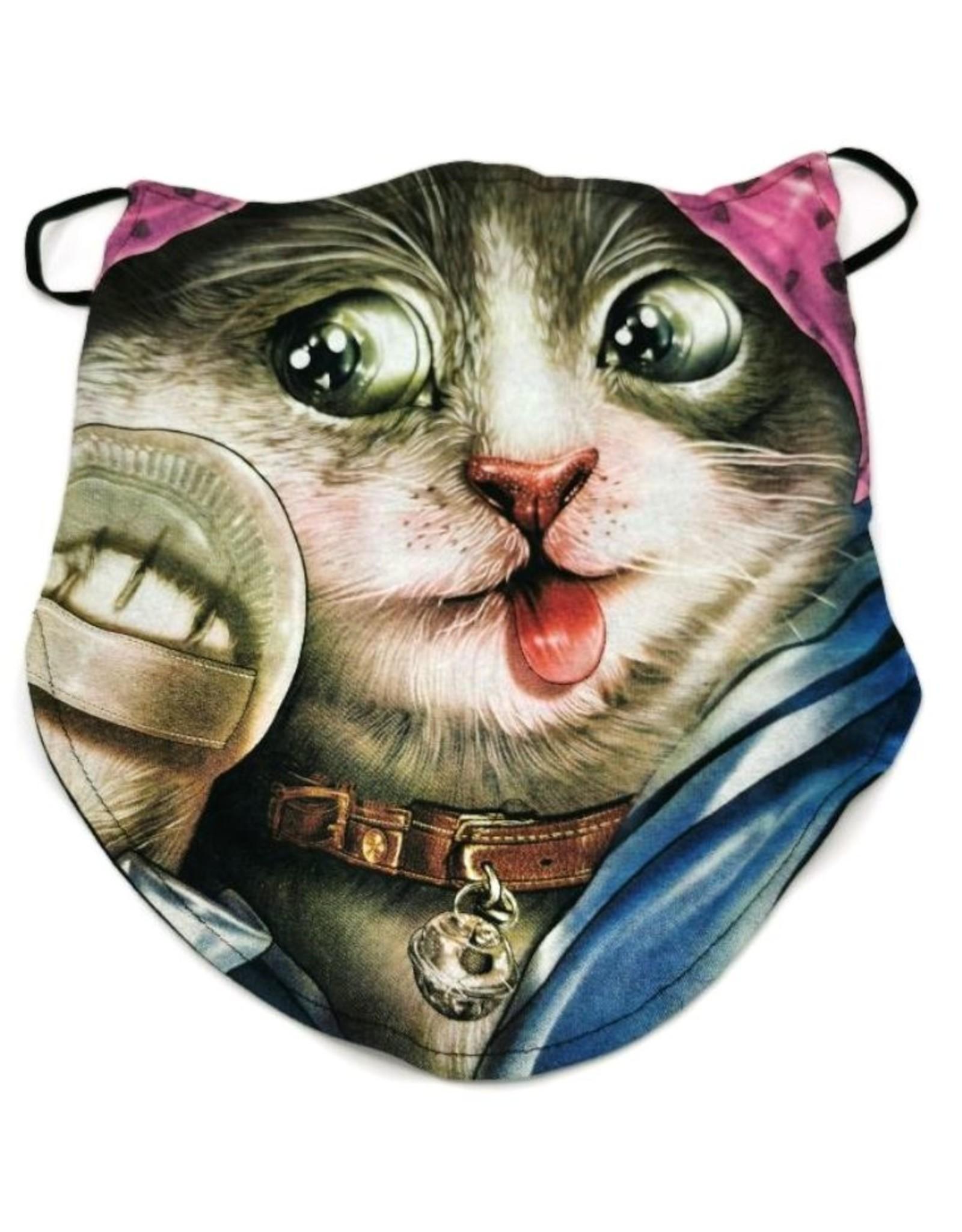 Design Biker sjaals - Biker-sjaal Beauty Cat
