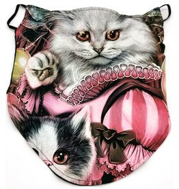 Wild Biker-sjaal Queen Cat