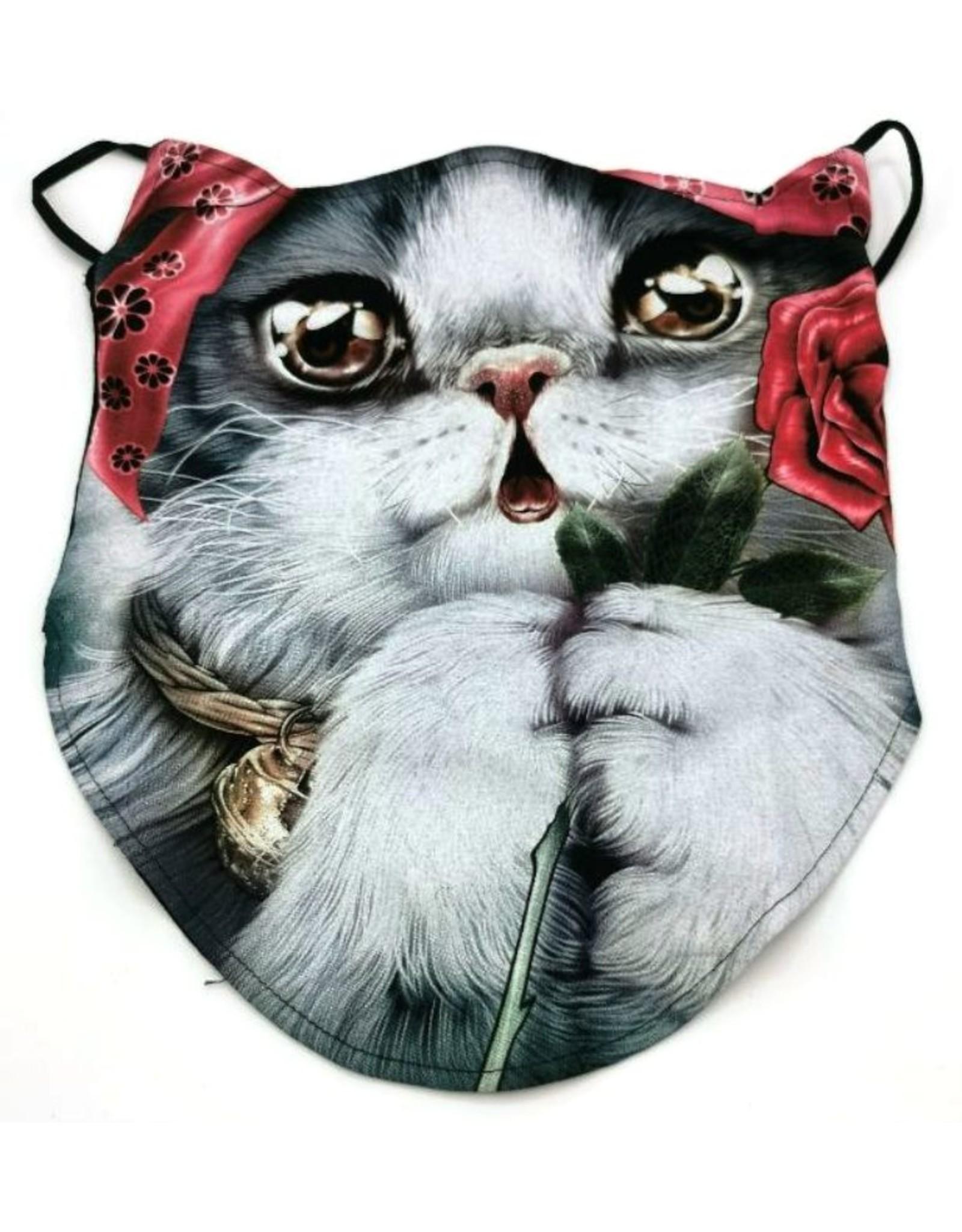 Wild Design Biker sjaals - Biker-sjaal Gipsy Cat