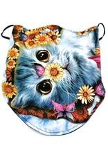Wild Design Biker sjaals - Biker-sjaal Daisy Cat
