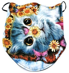 Wild Biker-scarf Daisy Cat