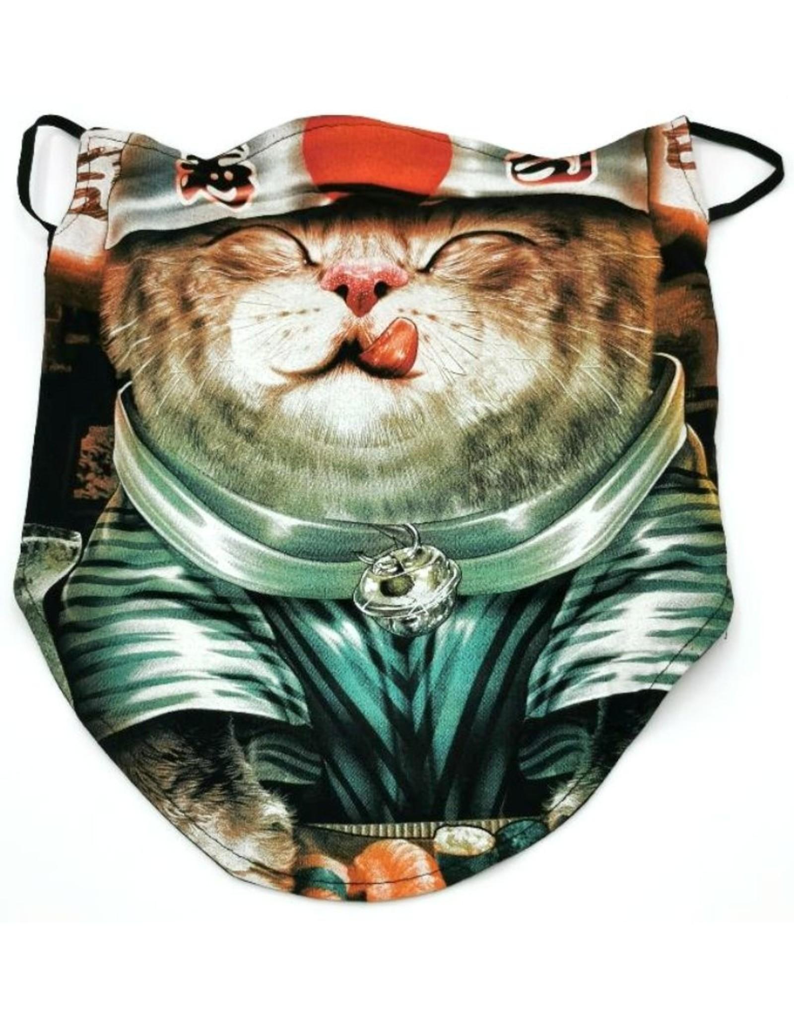Wild Design Biker sjaals - Biker-sjaal Ninja Cat