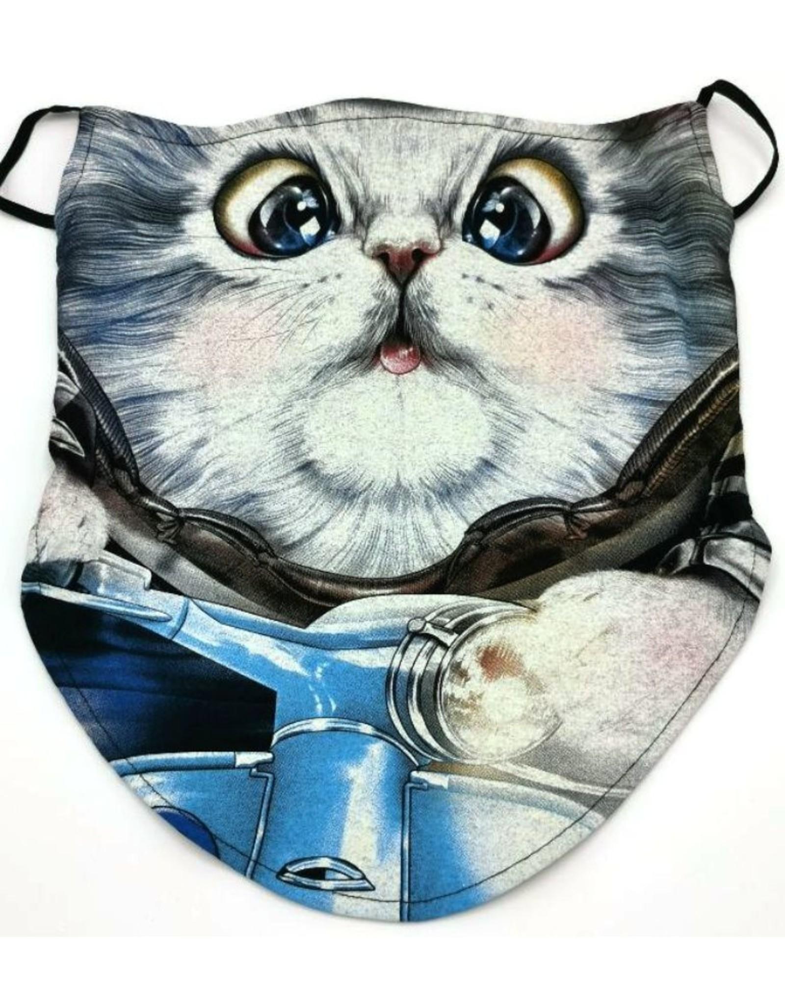 Wild Design Biker scarfs - Biker-scarf Scooter Cat