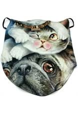 Wild Design Biker sjaals- Biker-sjaal Caballo Cat