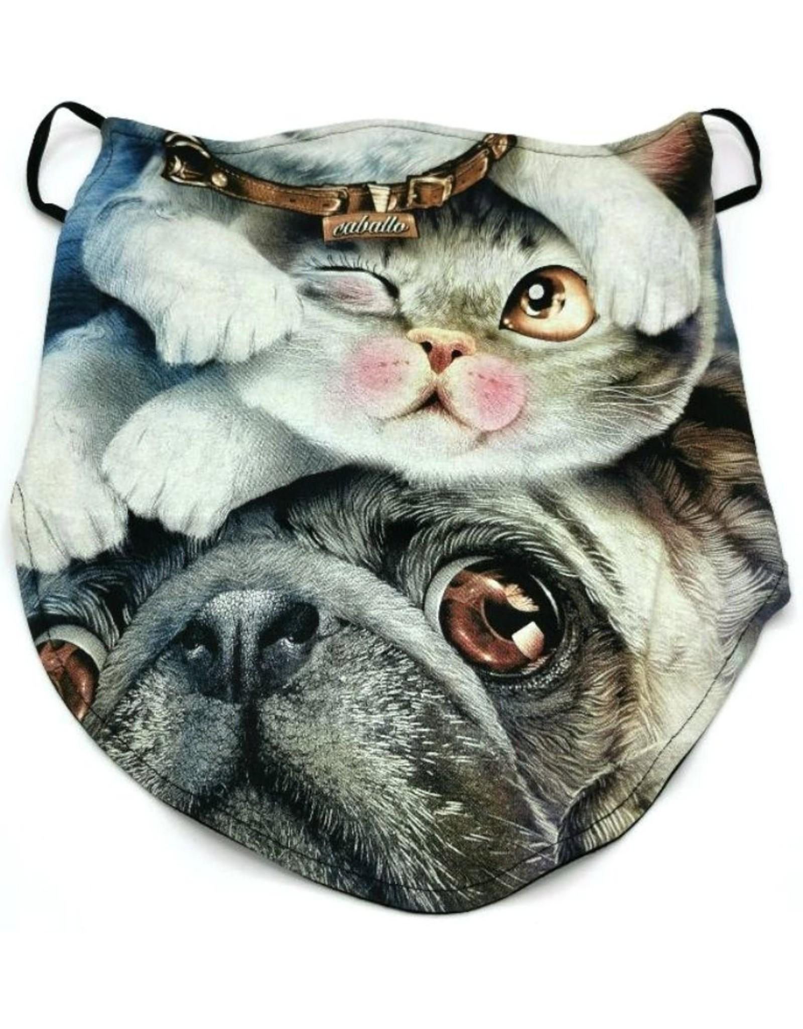Design Biker sjaals- Biker-sjaal Caballo Cat