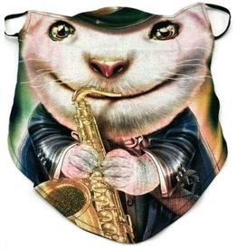 Wild Biker-sjaal Big Band Rat