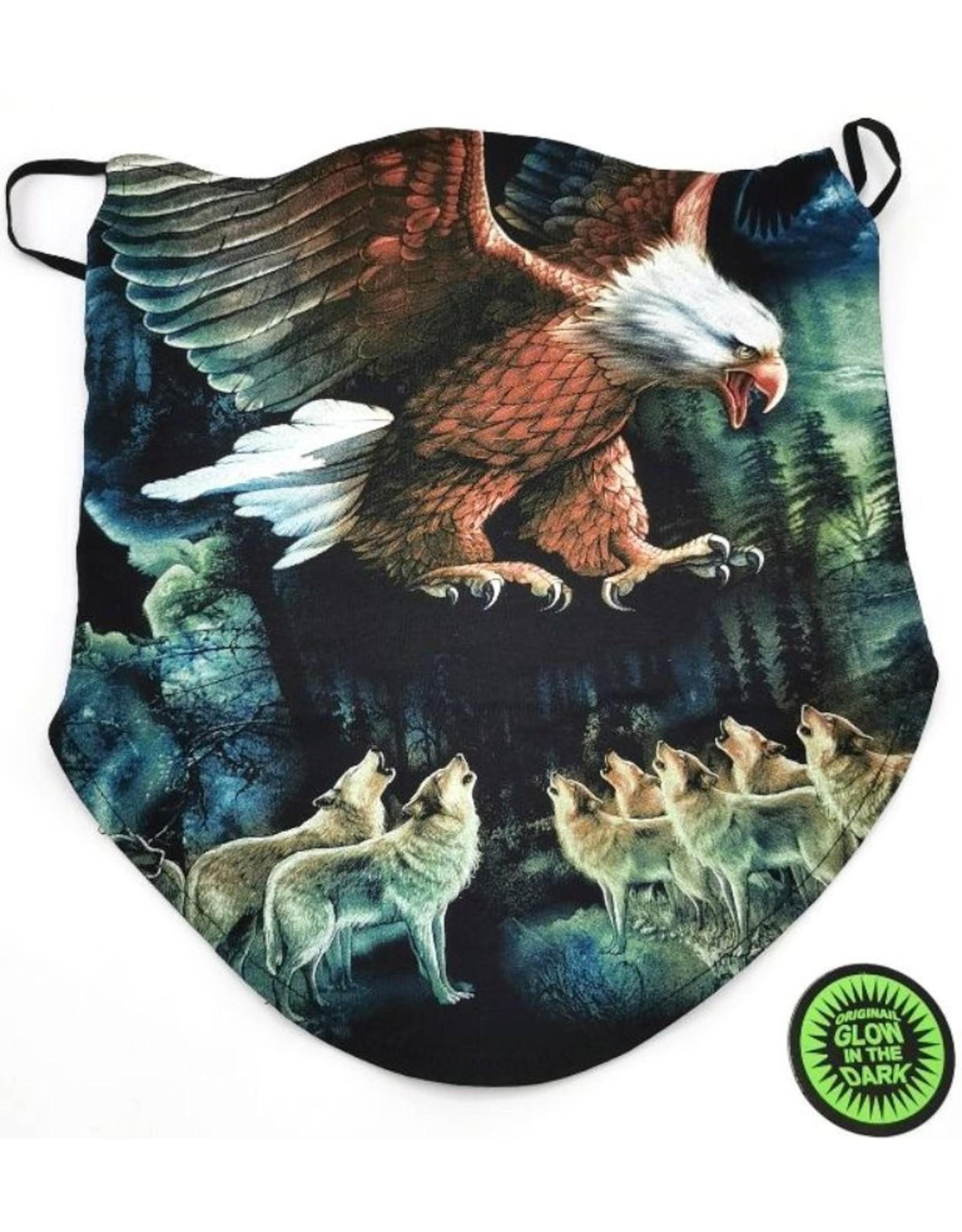 Wild Design Biker scarfs - Biker-scarf Eagle and wolves