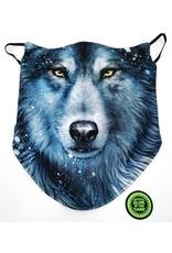 Wild Design Biker sjaals - Biker-sjaal Blauwe Wolf