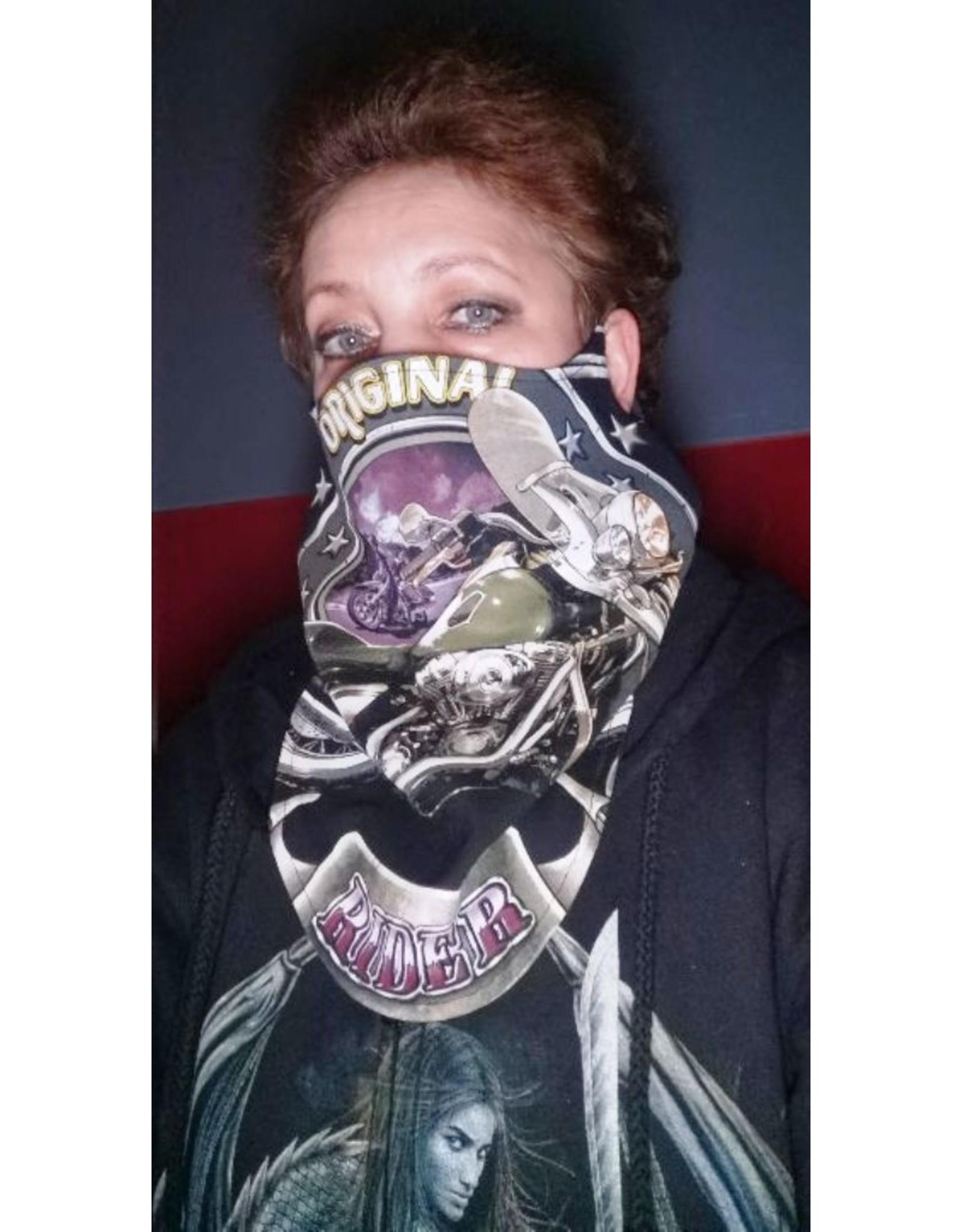 Wild Design Biker sjaals - Biker-sjaal Wolven