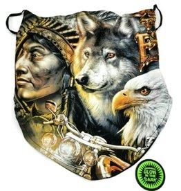 Wild Biker-sjaal Native Spirits