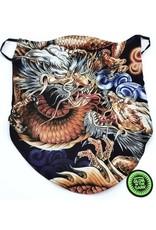 Wild Design Biker sjaals - Biker-sjaal Dragon Fight