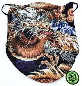 Wild Biker-scarf Dragon Fight