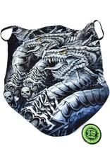 Wild Design Biker sjaals - Biker-sjaal Dragon Twins