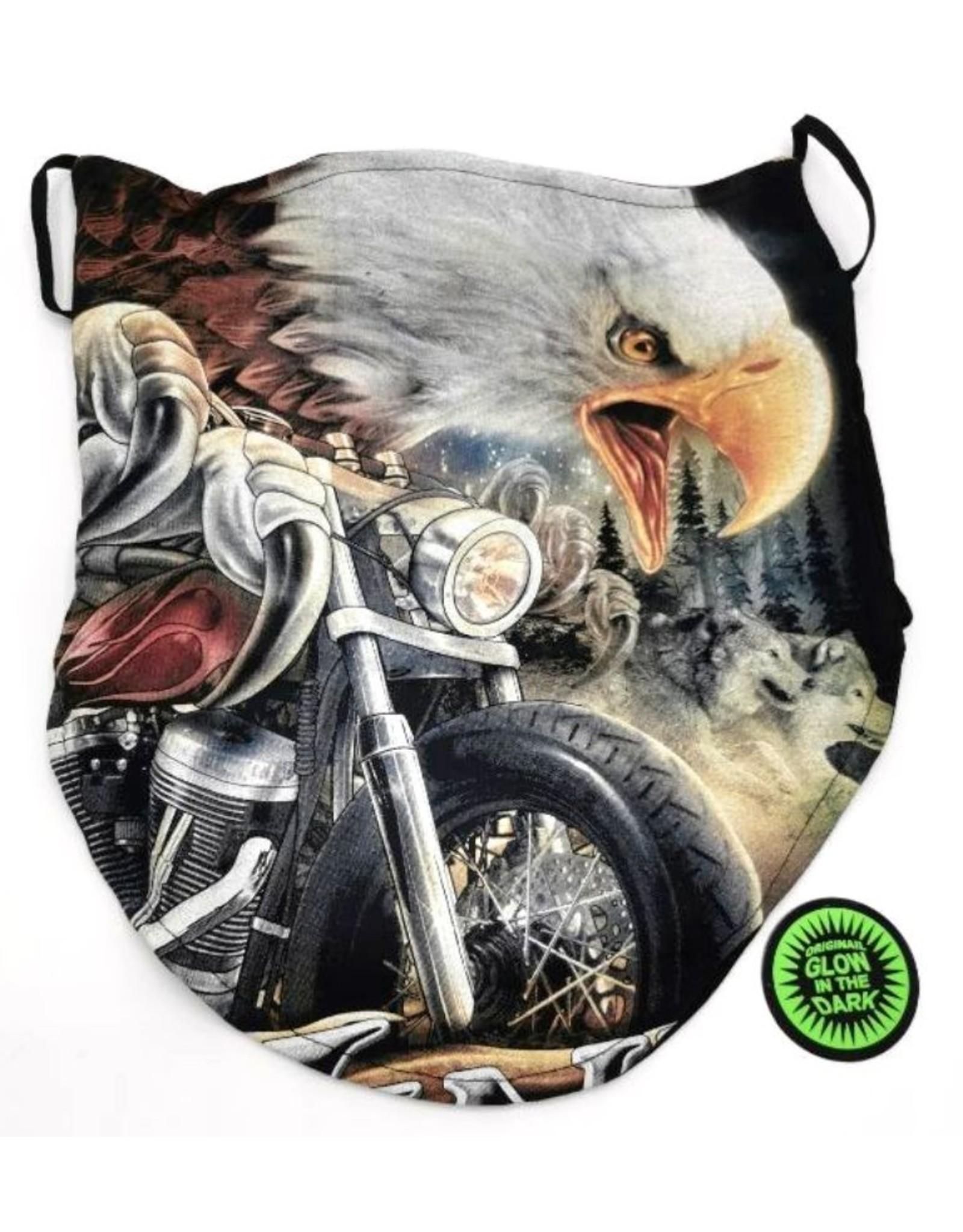Wild Design Biker sjaals - Biker-sjaal Adelaar op Motor