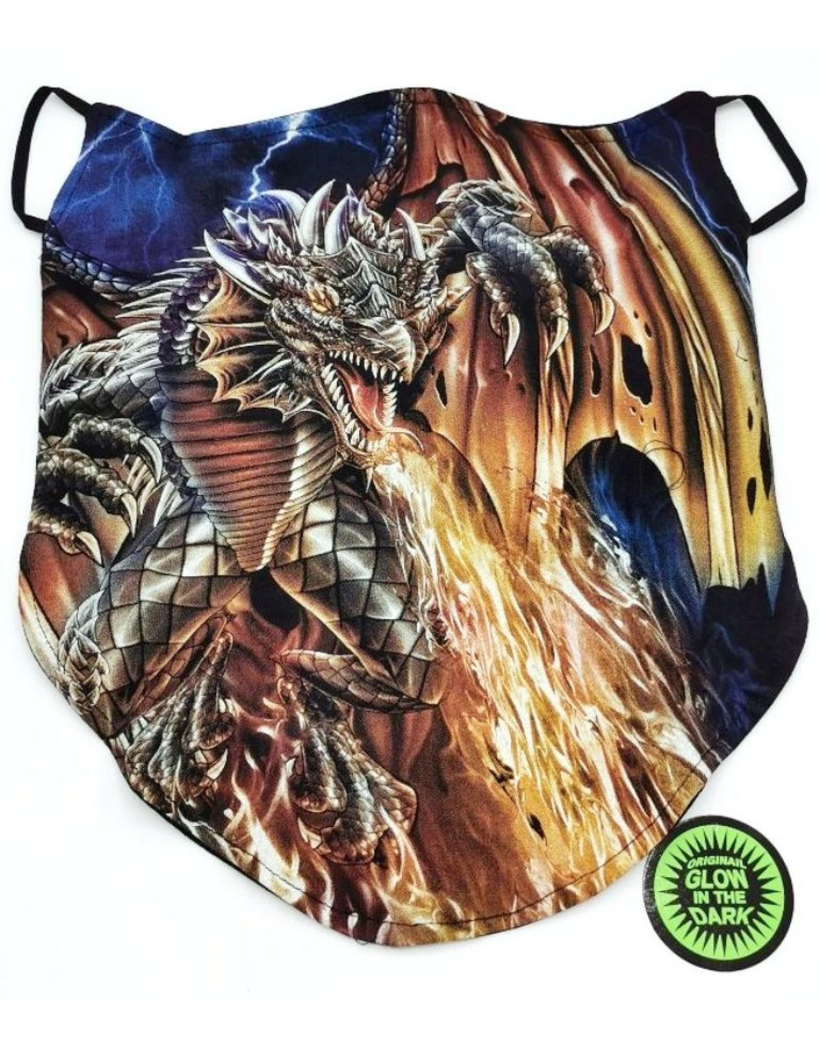 Design Biker sjaals - Biker-sjaal Vuurdraak