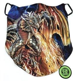 Wild Biker-scarf Fire Dragon