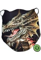 Wild Design Biker scarfs - Biker-scarf Brown Dragon