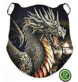 Wild Biker-sjaal Grijze draak