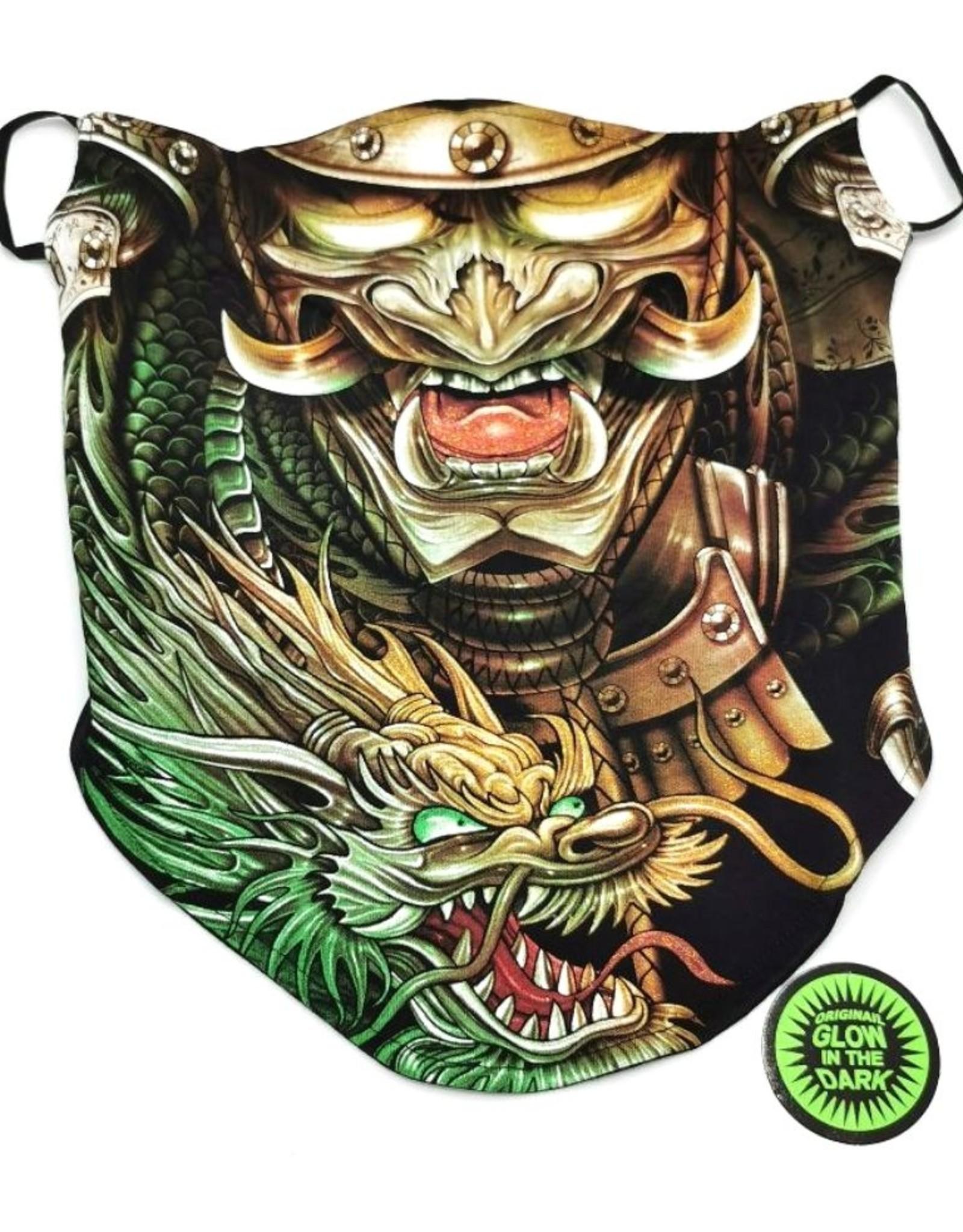 Wild Design Biker scarfs - Biker-scarf Samourai Dragon