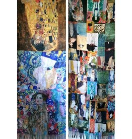 MC Shawl Gustav Klimt Collage - double sided