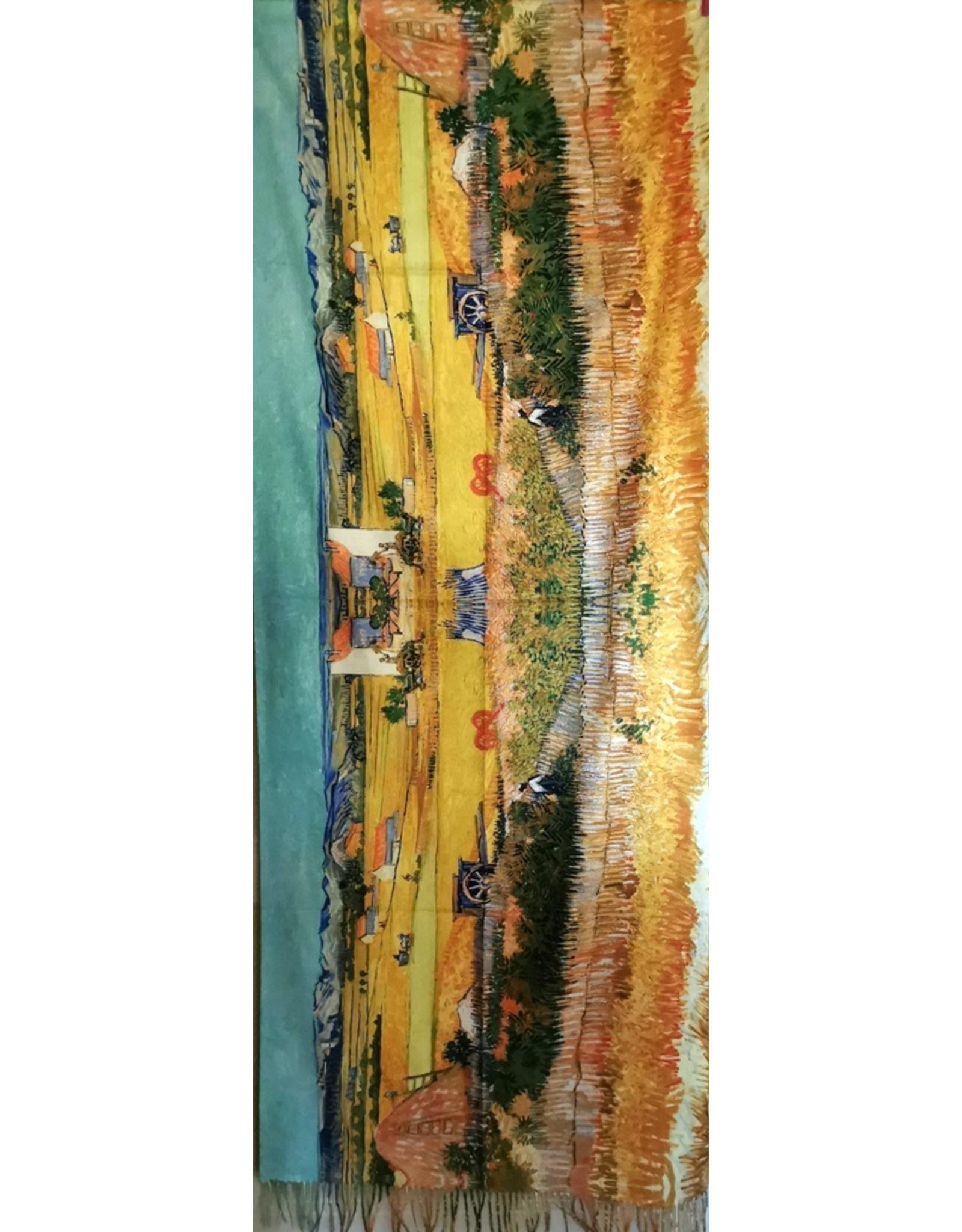 MC Miscellaneous - Omslagdoek Vincent van Gogh - De Oogst