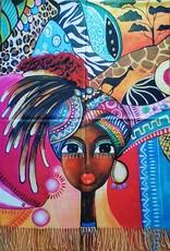 MC Miscellaneous - Omslagdoek Afrikaanse Vrouw