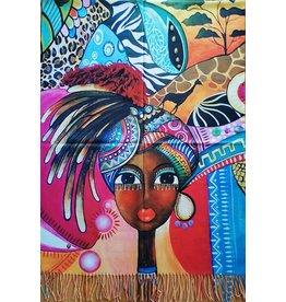 MC Omslagdoek Afrikaanse Vrouw