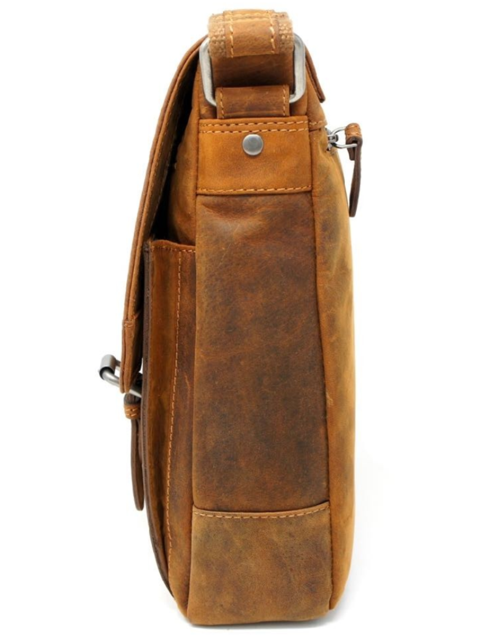 HillBurry Leather Shoulder bags  Leather crossbody bags - HillBurry Leather Crossbody Bag (Mango Tan)