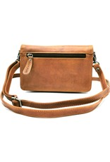 HillBurry Leather Festival bags, waist bags and belt bags - HillBurry Leather Shoulder Bag with Cover