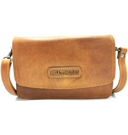 HillBurry HillBurry Leather Shoulder Bag with Cover