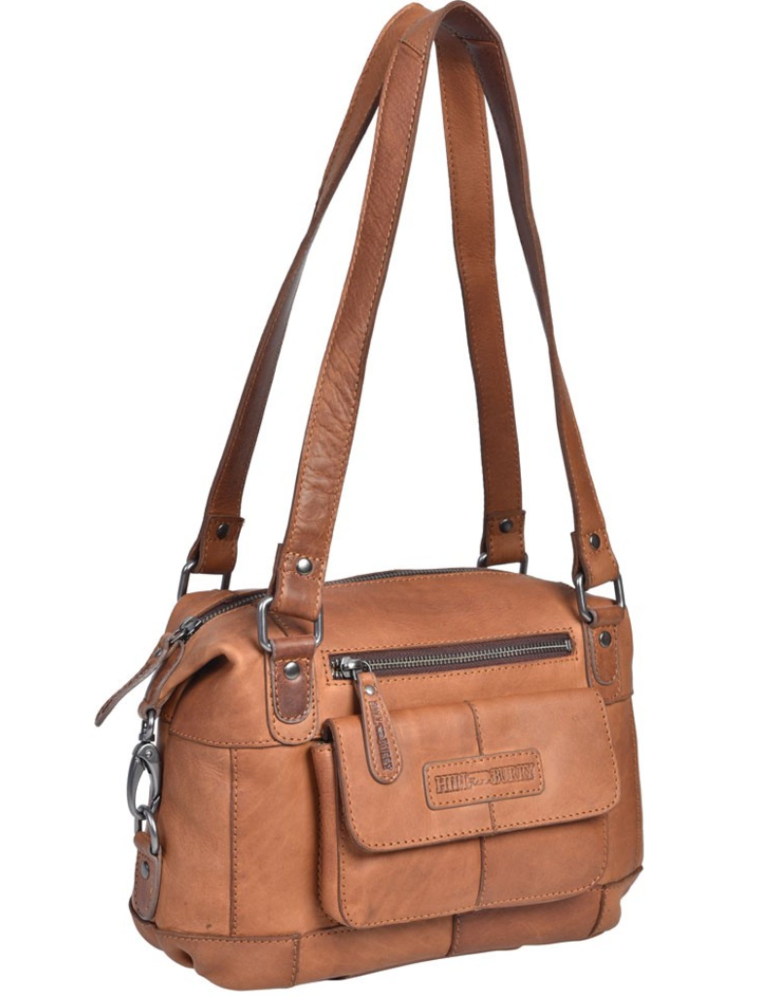 HillBurry Leather Shoulder bags  leather crossbody bags - HillBurry Leather Shoulder bag medium (cognac)