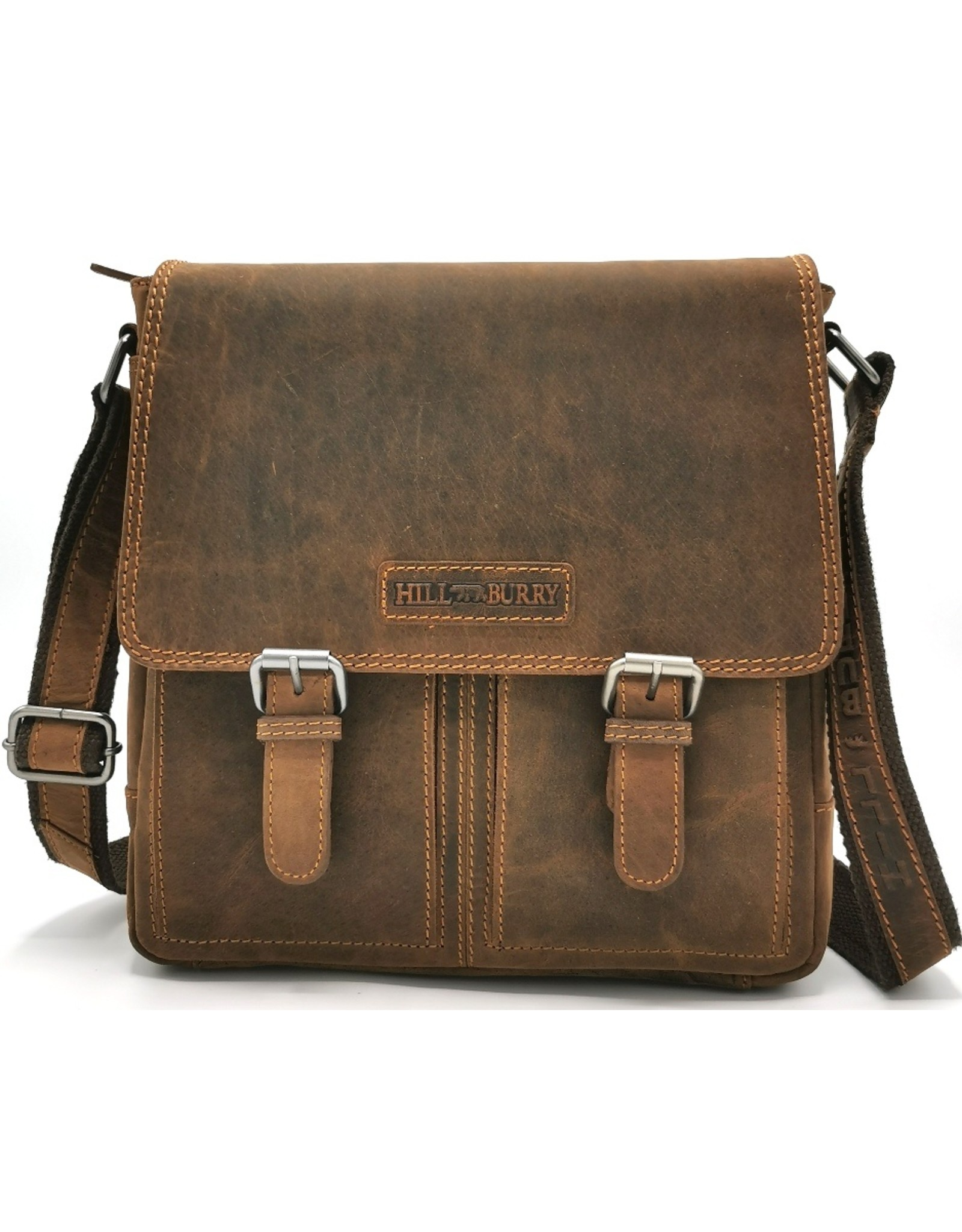 HillBurry Leather Shoulder bags  Leather crossbody bags - HillBurry Leather Crossbody bag (Dark Tan)