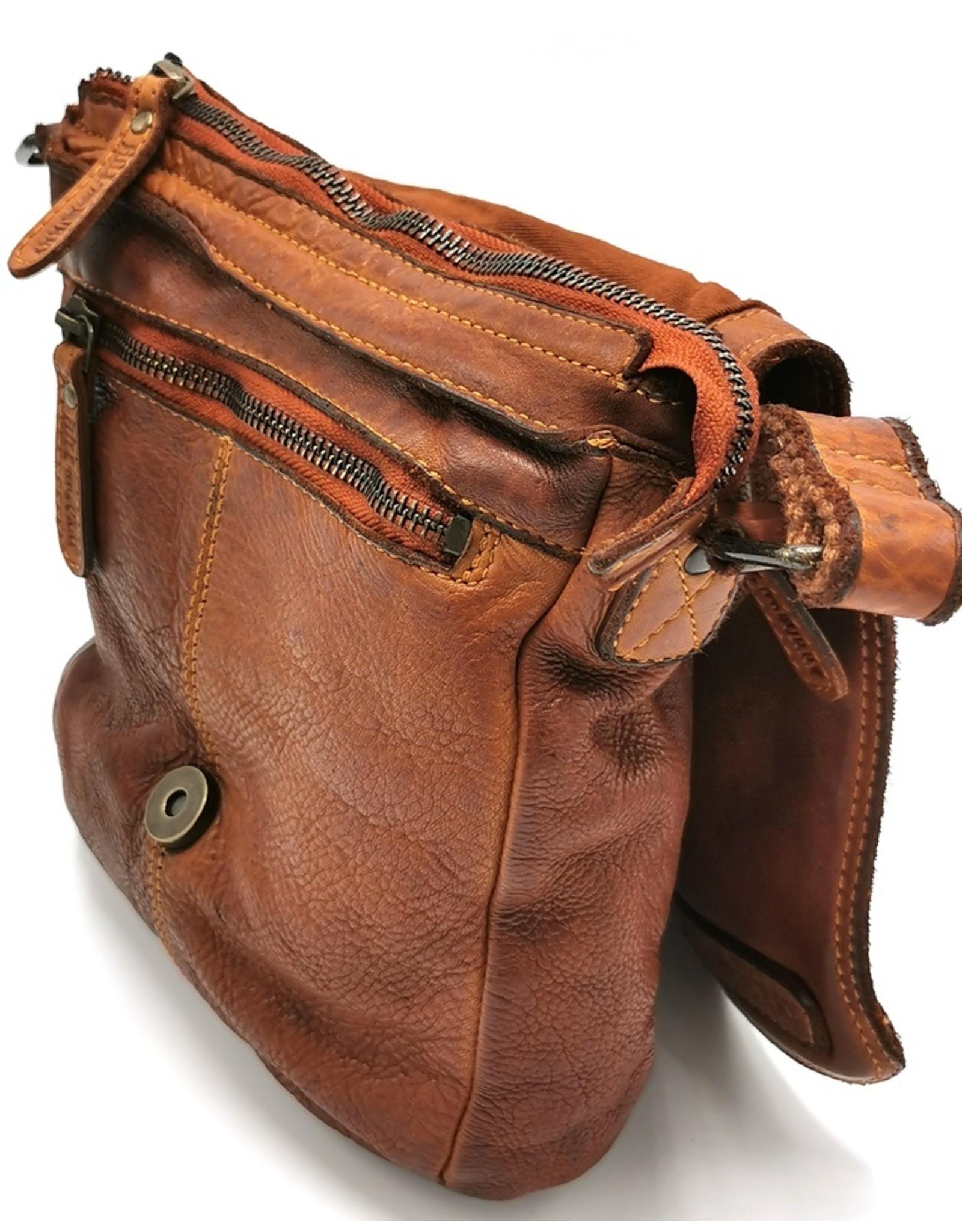 HillBurry Leather bags - HillBurry leather shoulder bag 6212c